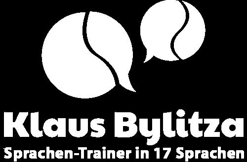 Footerlogo Klaus-Bylitza-Sprachen-Trainer-Logo-in-weiß